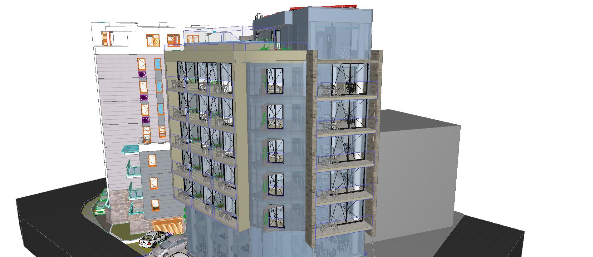 Projekt:<b>                                                                     Hotel Fagus 4* - Budva                                                                 </b>