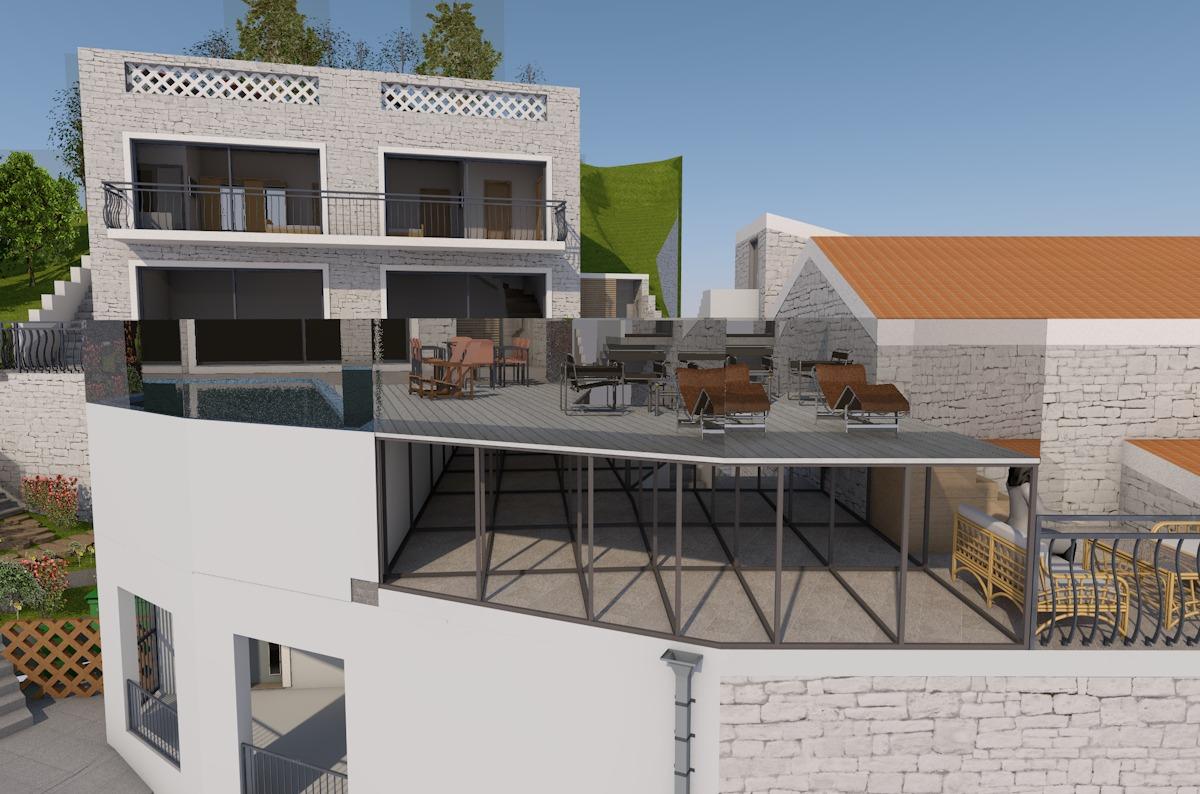 Projekt:<b>                                                                     Stambeni objekat Podličak - Budva                                                                 </b>